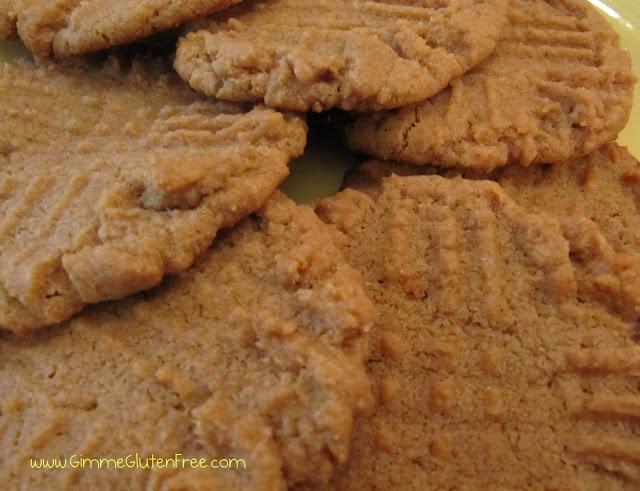 FABULOUS Gluten Free Peanut Butter Cookies