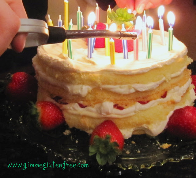 Sheila's Lemon Birthday Cake