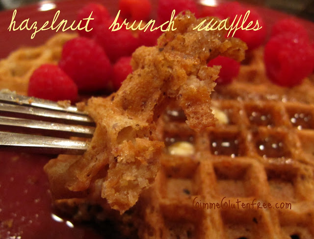 Hazelnut Brunch Waffles