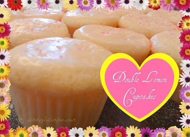 Double-Lemon Gluten Free Cupcakes