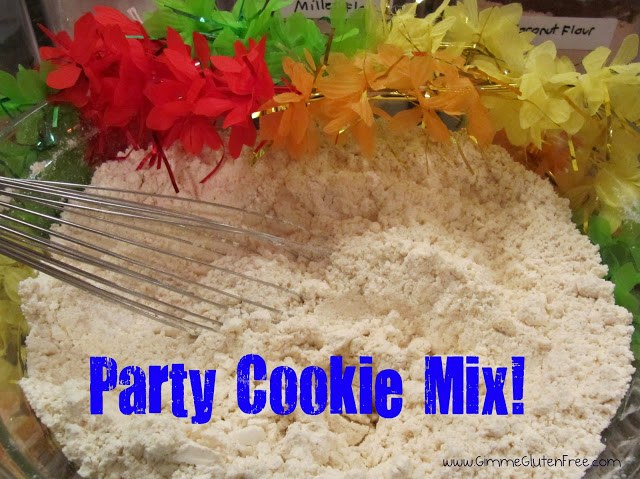 How to Make a Gluten-Free Party Cookie Mix