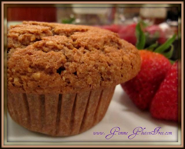 Hazelnut Peanut Butter Muffins