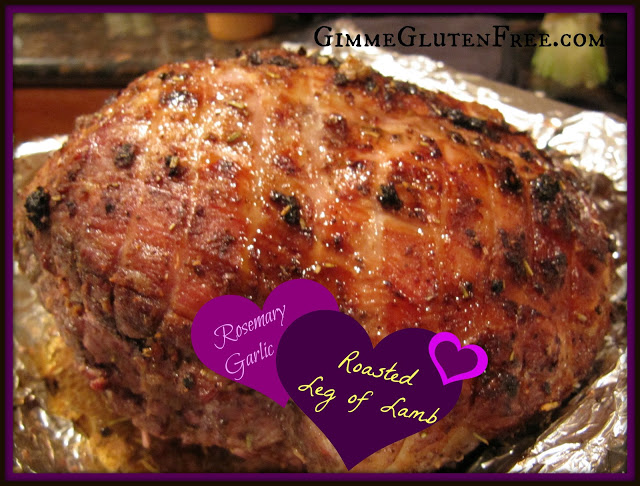 Rosemary-Garlic Boneless Roasted Leg of Lamb