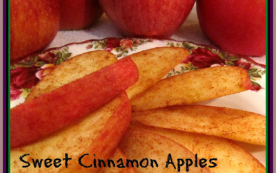 Sweet Cinnamon Apple Slices